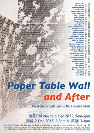 Paper Table Wall and After