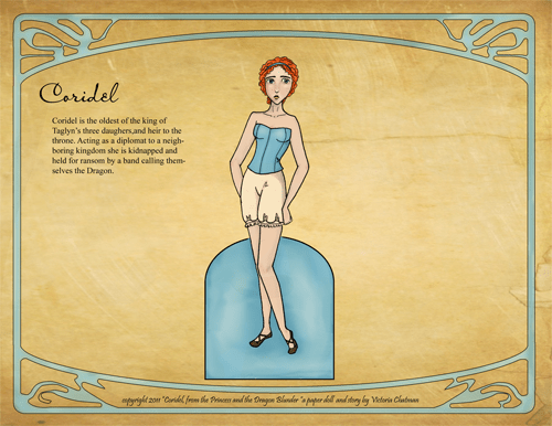 Thumbnail of Coridel Paper Doll from Paper Closet