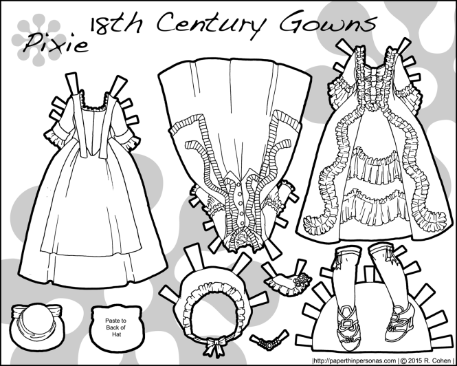 18th-cent-paper-doll-gowns-black-white