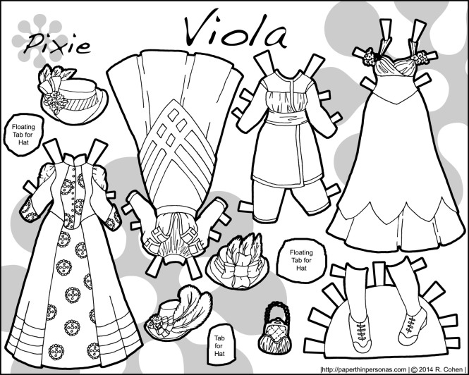edwardian-black-and-white-printable-paper-doll-clothes