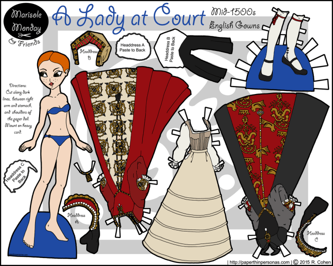 margot-tudor-paper-doll