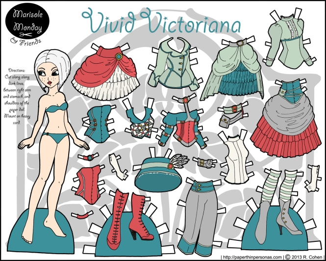 vivid-victoriana-marisole-monday-steampunk-paper-doll