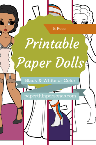 Dozens of different boy paper dolls designs to print in color or black and white. Choose between contemporary fantasy or sci-fi, your paper dolls can be almost anything.