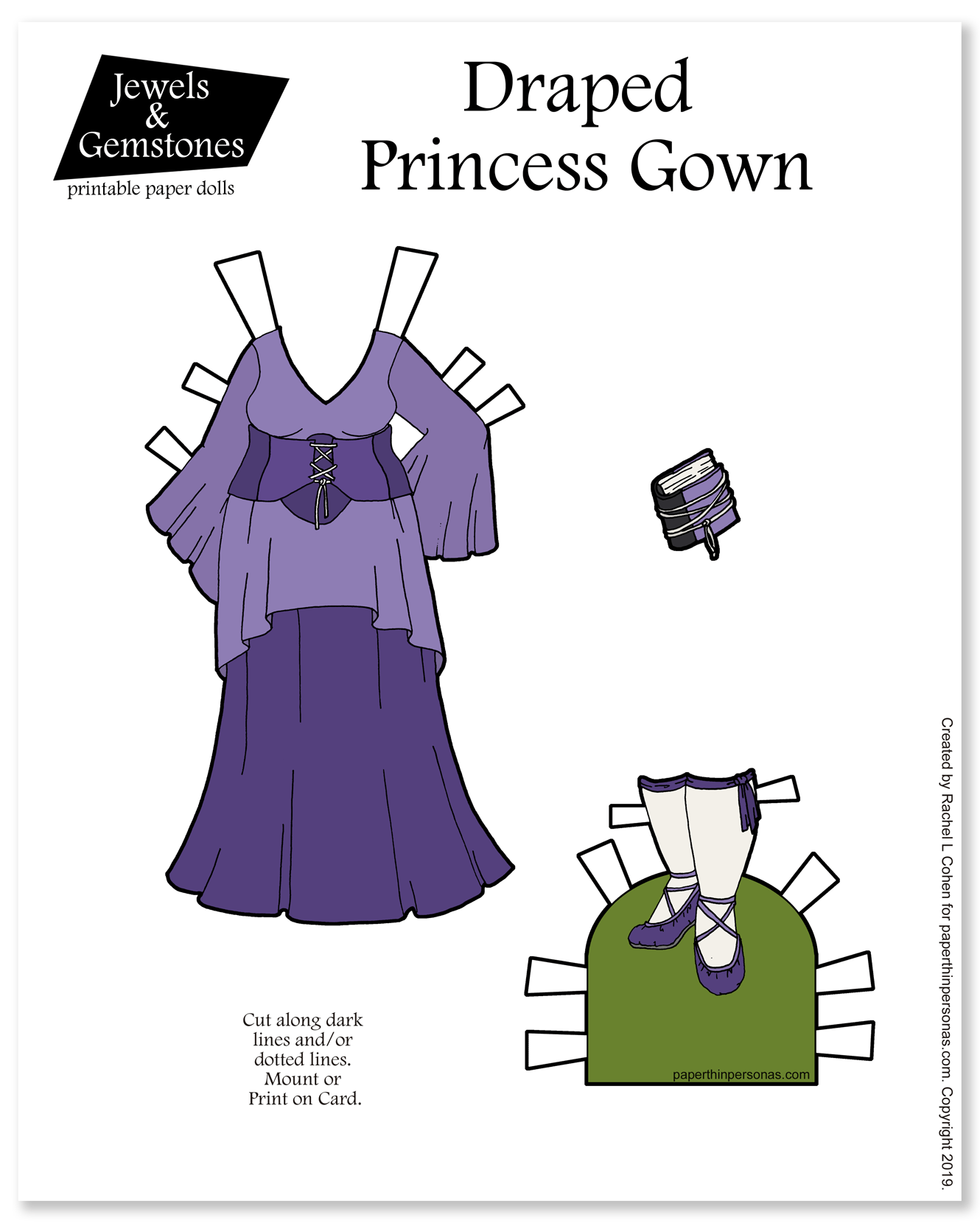 Paper Thin Personas • Page 11 of 197 • Whimsical Paper Dolls for