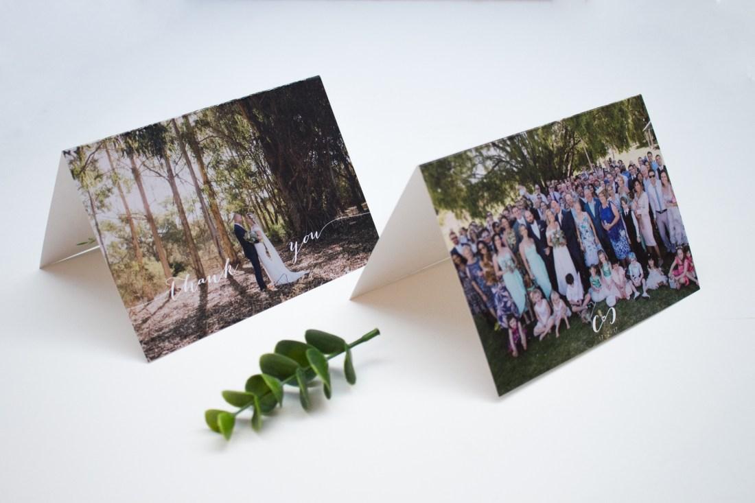 Custom wedding stationery Chioni & CJ