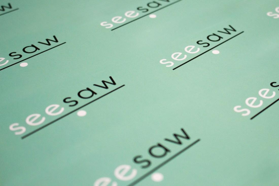Seesaw Logo Design