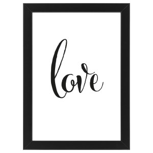 "Plakat ""LOVE"" #018"