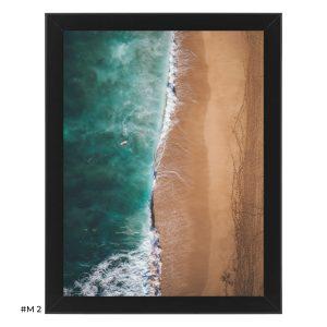 """Plakat """"piaszczysta plaża"""" #M2"""