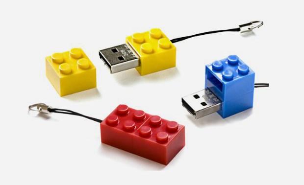lego brick usb drive