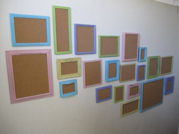 corkboard classroom display