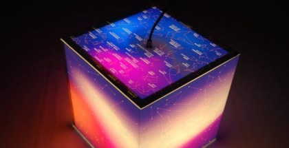 uniqcube constellations stars lamp