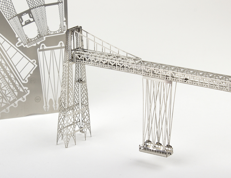 Maquette en métal