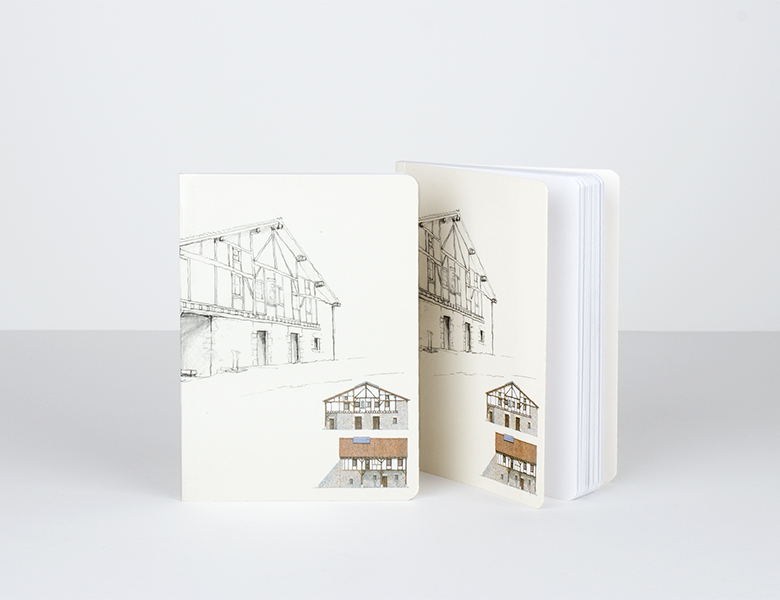 """Soft cover notebook """"travel"""""""