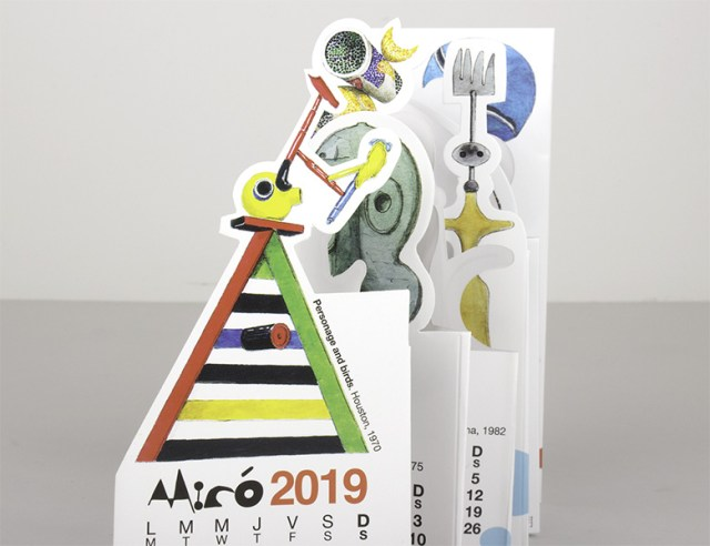 Calendario Pocket Miró 2019