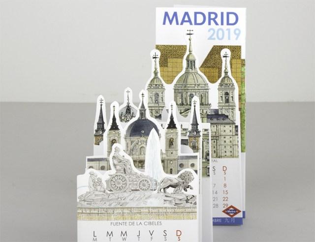 Calendario Pocket Madrid 2019