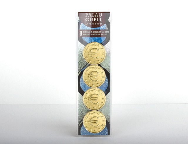 Chocolate coins case