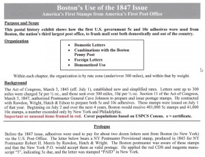 Boston's Use of the 1847 Issue