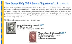 How Stamps Help Tell A Story of Injustice in the U.S.