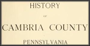 Cambria County Pennsylvania