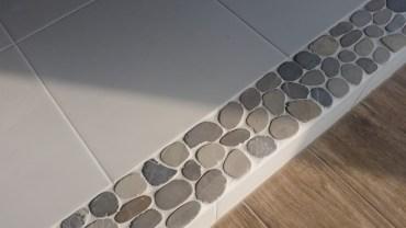Mozaika otoczaki listwa