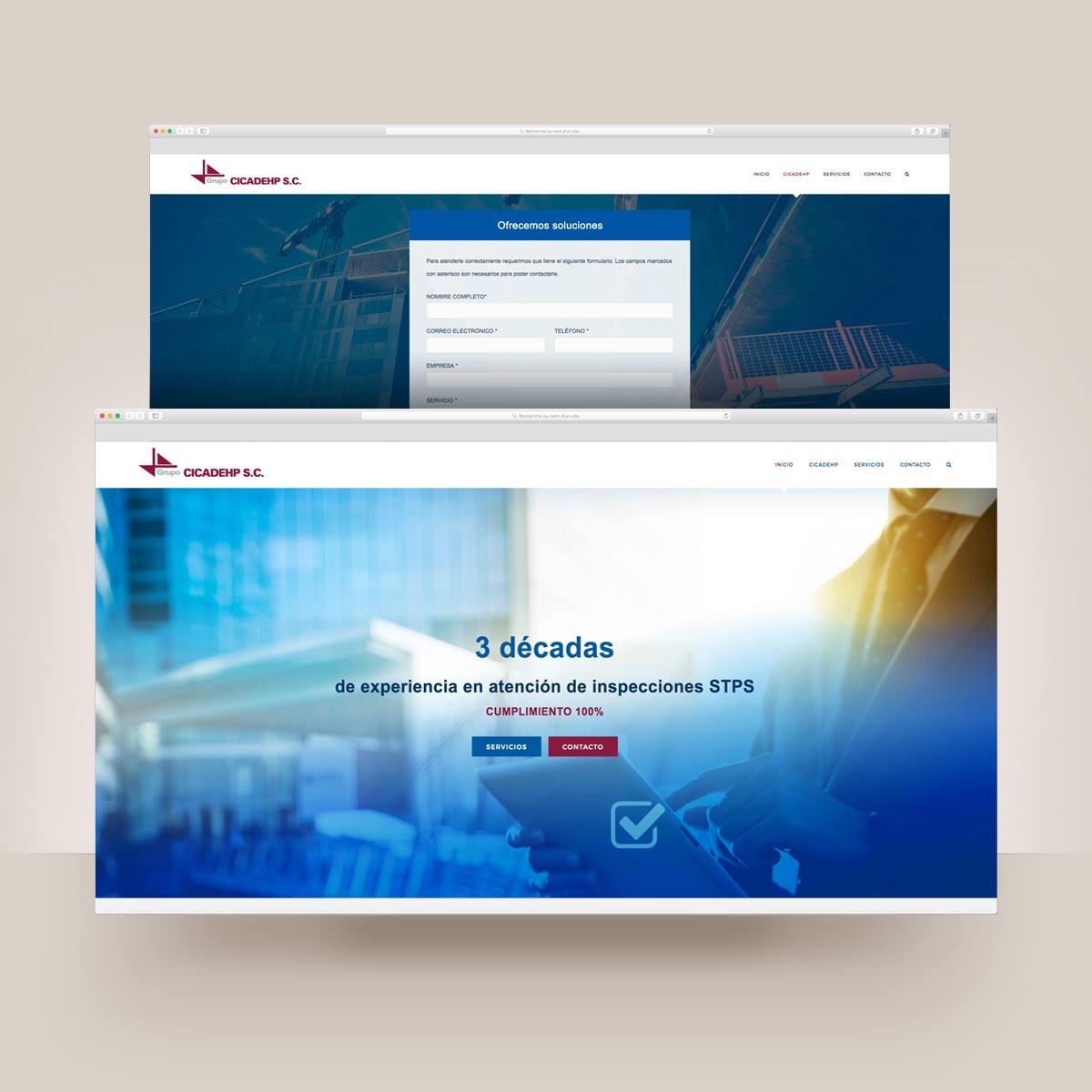 diseño web y desarrollo wordpress
