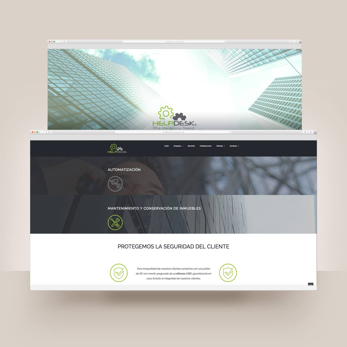 diseño web y desarrollo