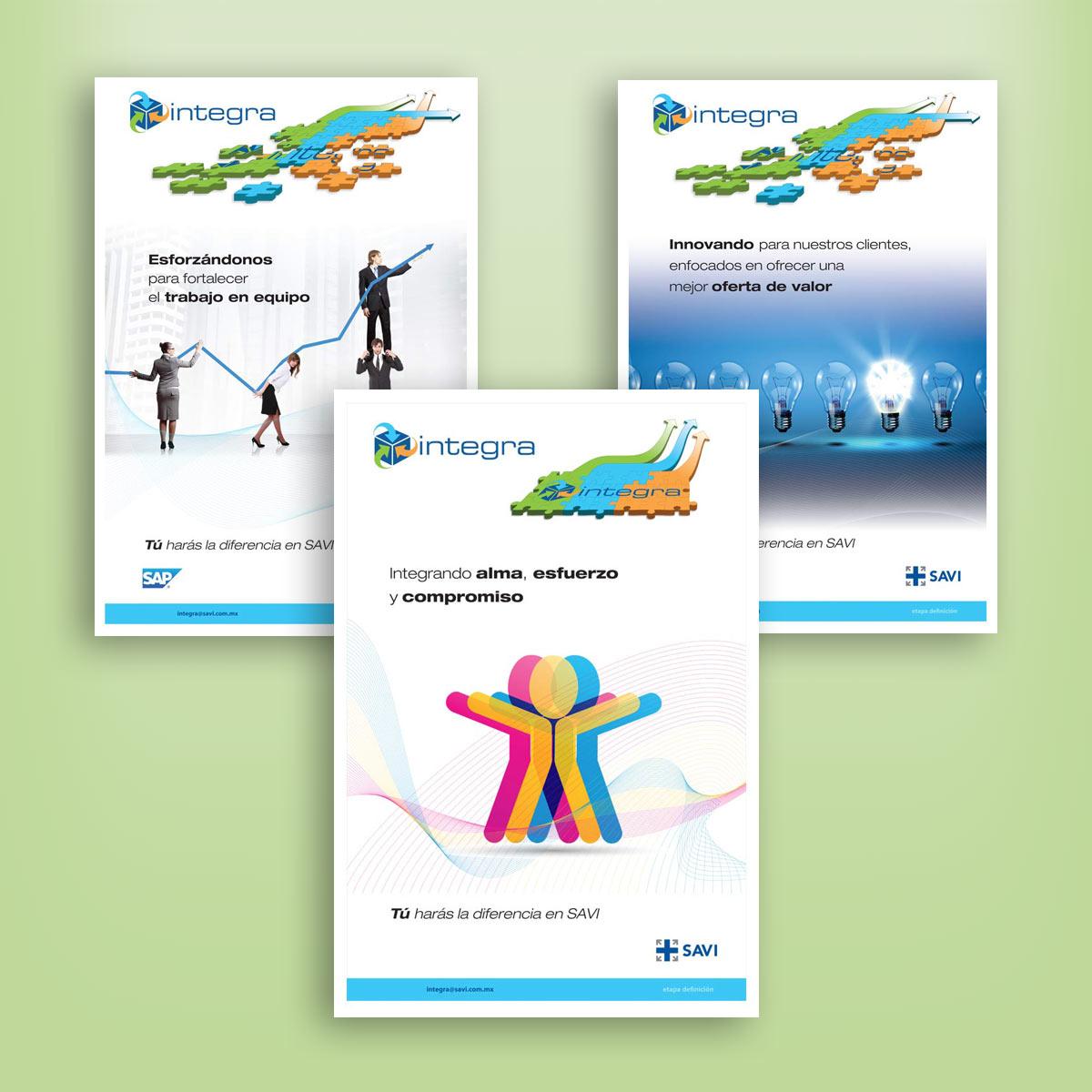 diseño de carteles SAVI
