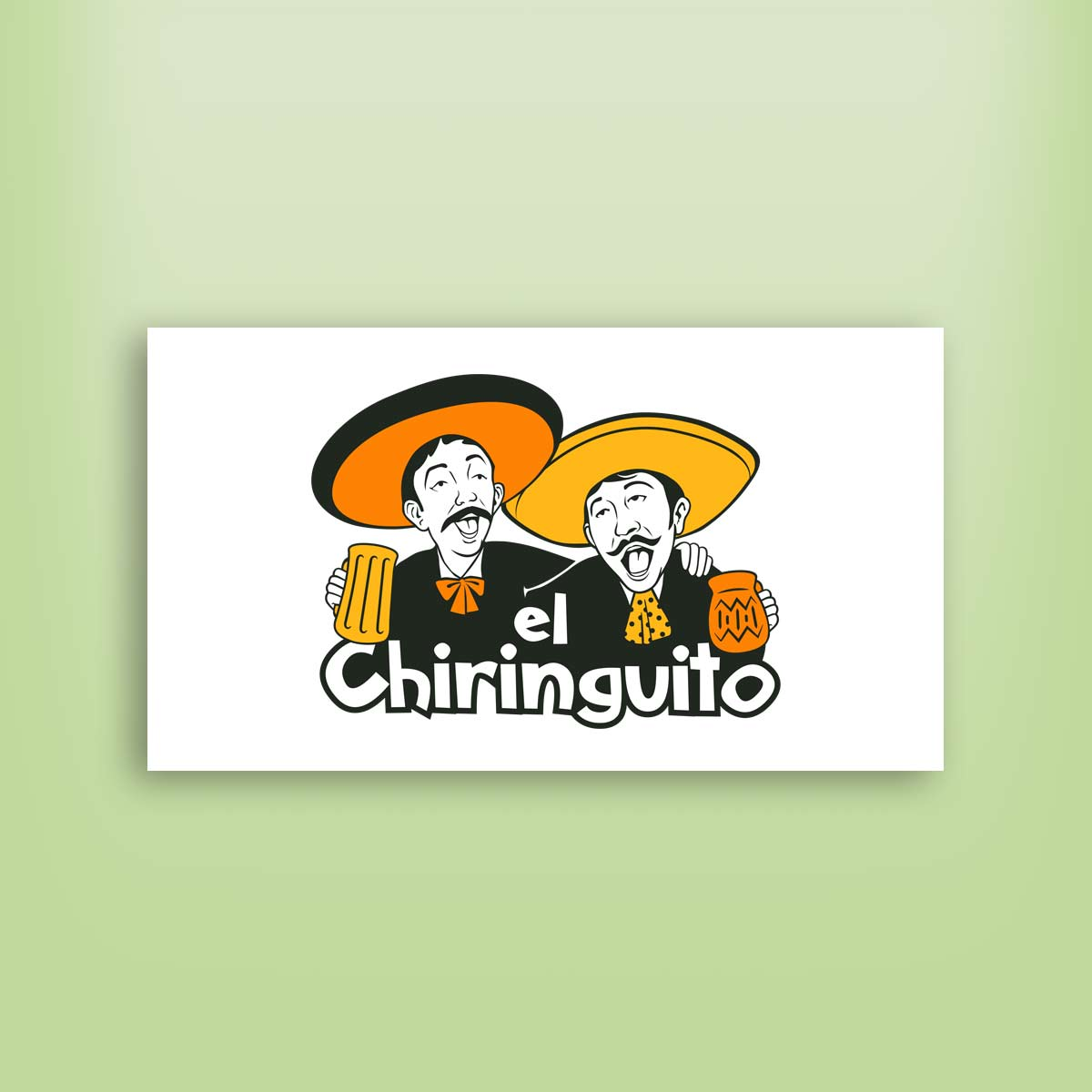 diseño de logotipo Chiringuito