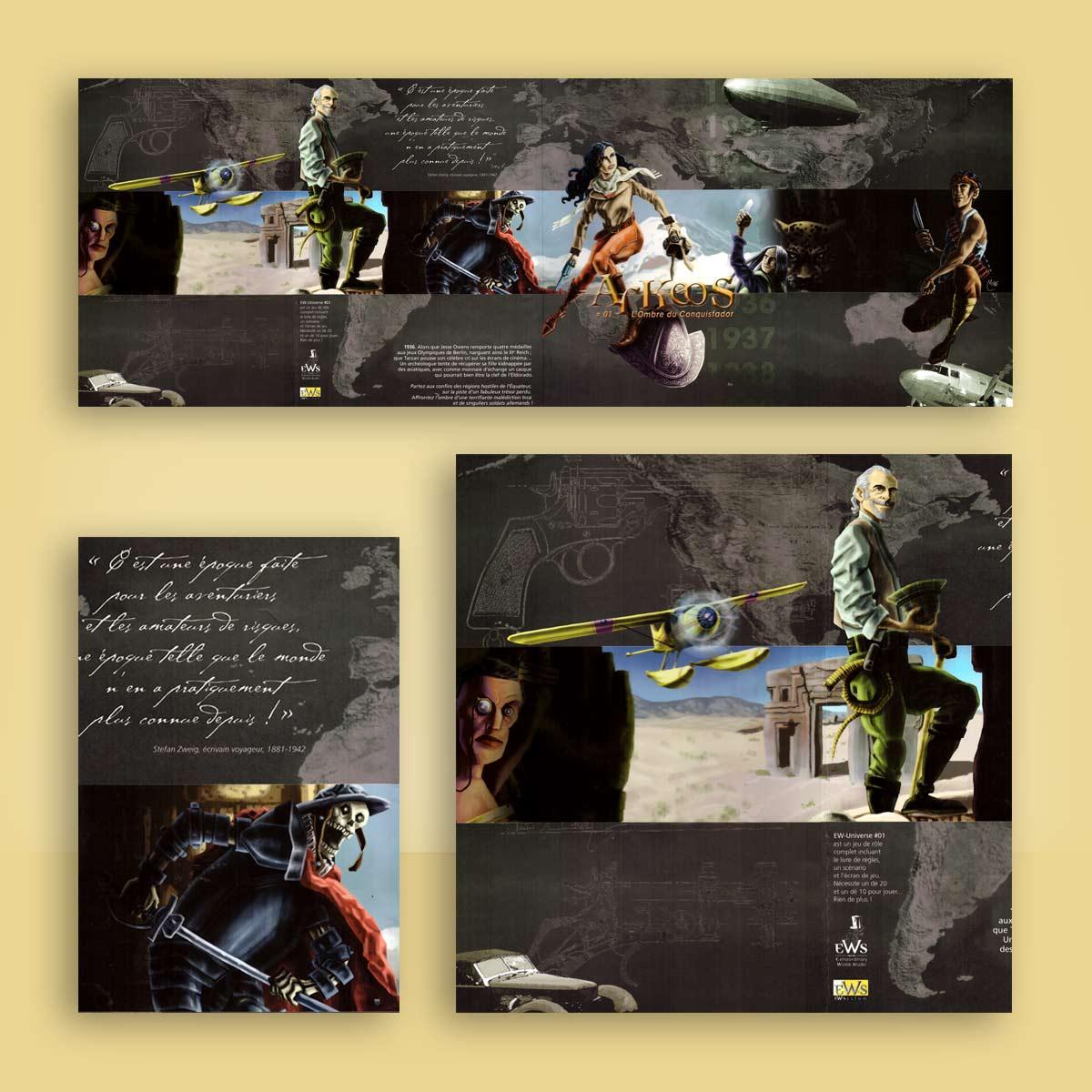 ilustración para juego Arkeos
