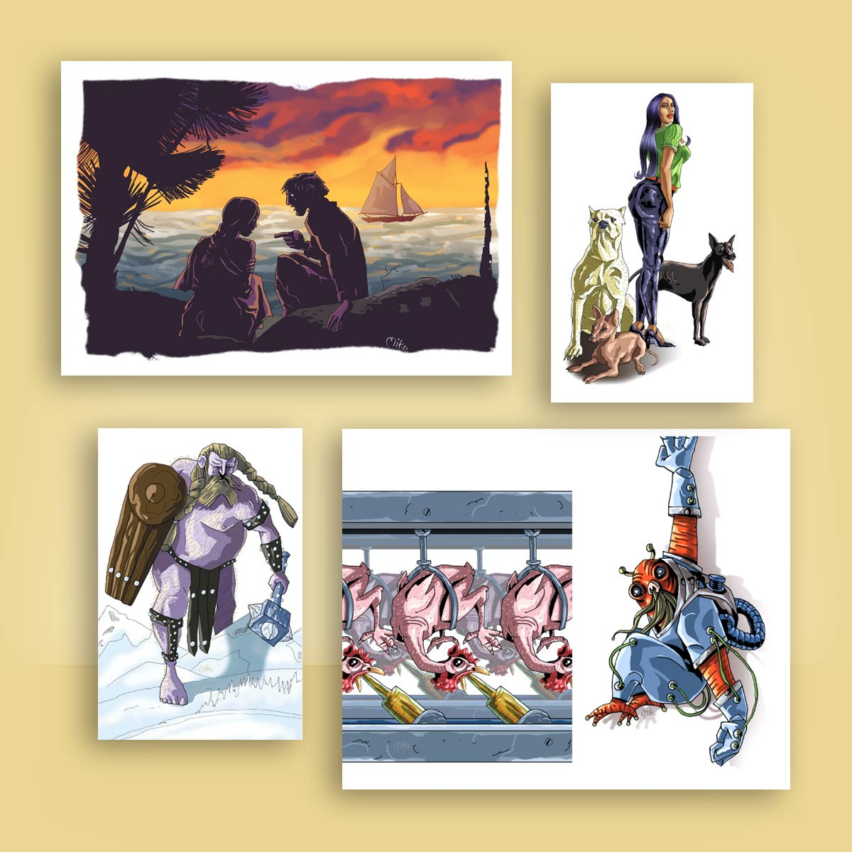 ilustración para lecciones Nuevo México