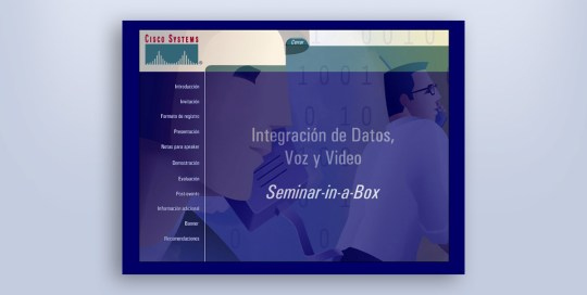 multimedia para cd de consulta cisco
