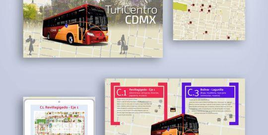 multimedia para presentación de servicios Turibus