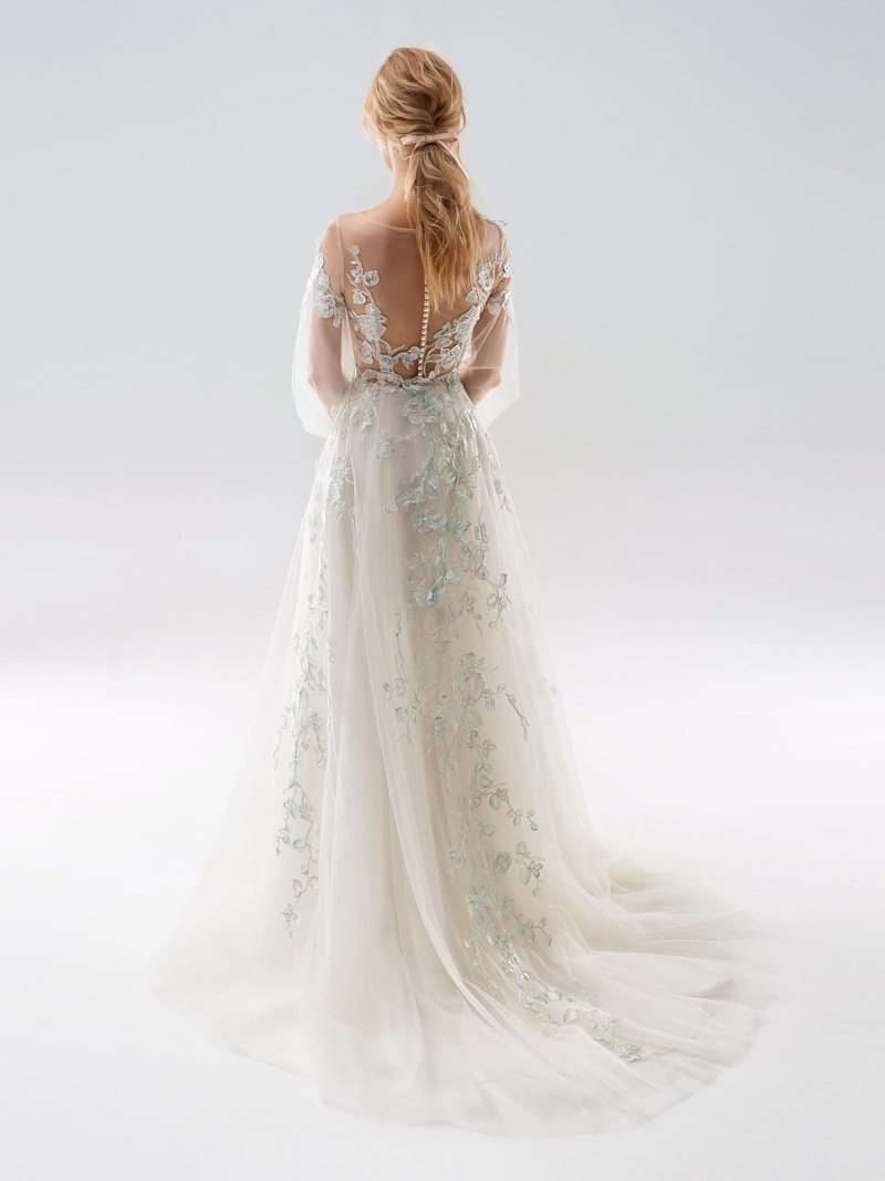 1911 -wedding-dress-back