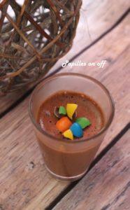 mousse au chocolat au lait au thermomix ou sans papilles on off