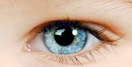 olhos do bebê