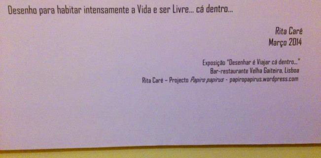 Do texto da exposição - Foto de Velha Gaiteira