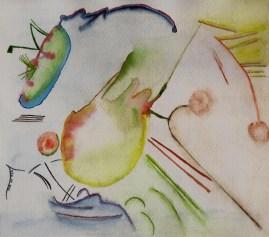 Kandinsky com Aguarela | Rita Caré