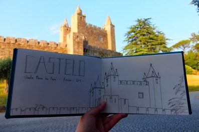 Castelo de Santa Maria Feira - Jun 2017 - Por Rita Caré