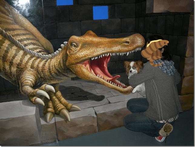 恐竜にも食われる