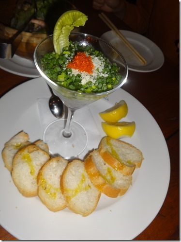 江ノ島名物しらすの前菜料理キャンティ特製洋風刺身ソースカクテル