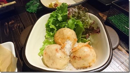 たまプラーザの自家製デリのレストランCOVOLBAコボルバの桜海老と蓮根のふわふわ揚げ