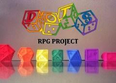 INCLUSÃO: DADOS DE RPG EM BRAILE GRATUITOS!