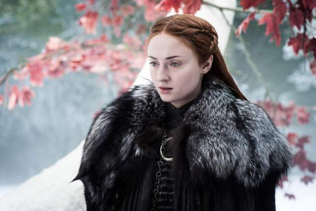 Os amigos de Sophie Turner já sabem o final de 'Game of Thrones'