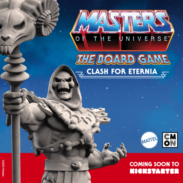 CMON ANUNCIA MASTERS OF THE UNIVERSE: THE BOARD GAME