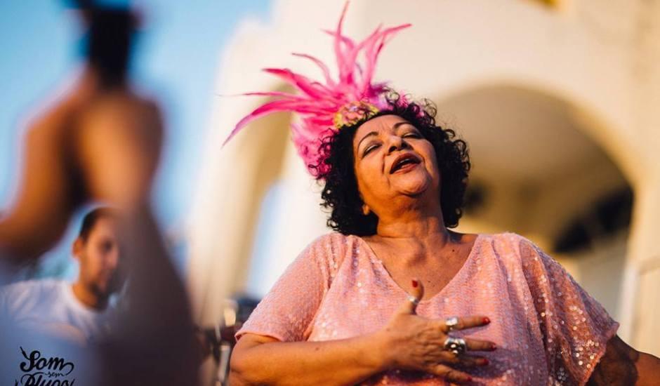 Resultado de imagem para dodora cardoso no festival do samba da ribeira em natal