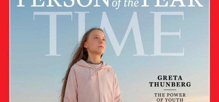 Fora do casulo… Greta Thunberg