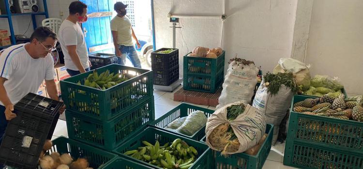Prefeitura capta 6 toneladas de alimentos para população mais pobre