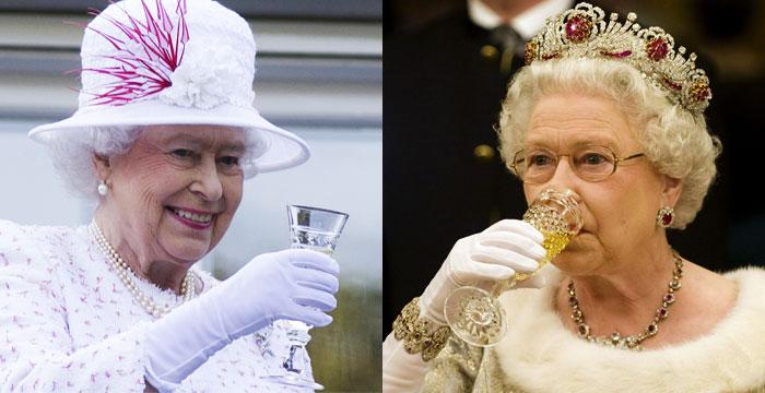 Aprenda a fazer os 4 drinks que a Rainha Elizabeth II toma diariamente
