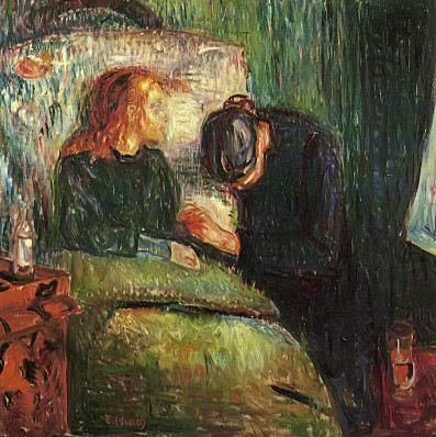 """""""A Criança Doente"""" (1885) de Edvard Munch"""