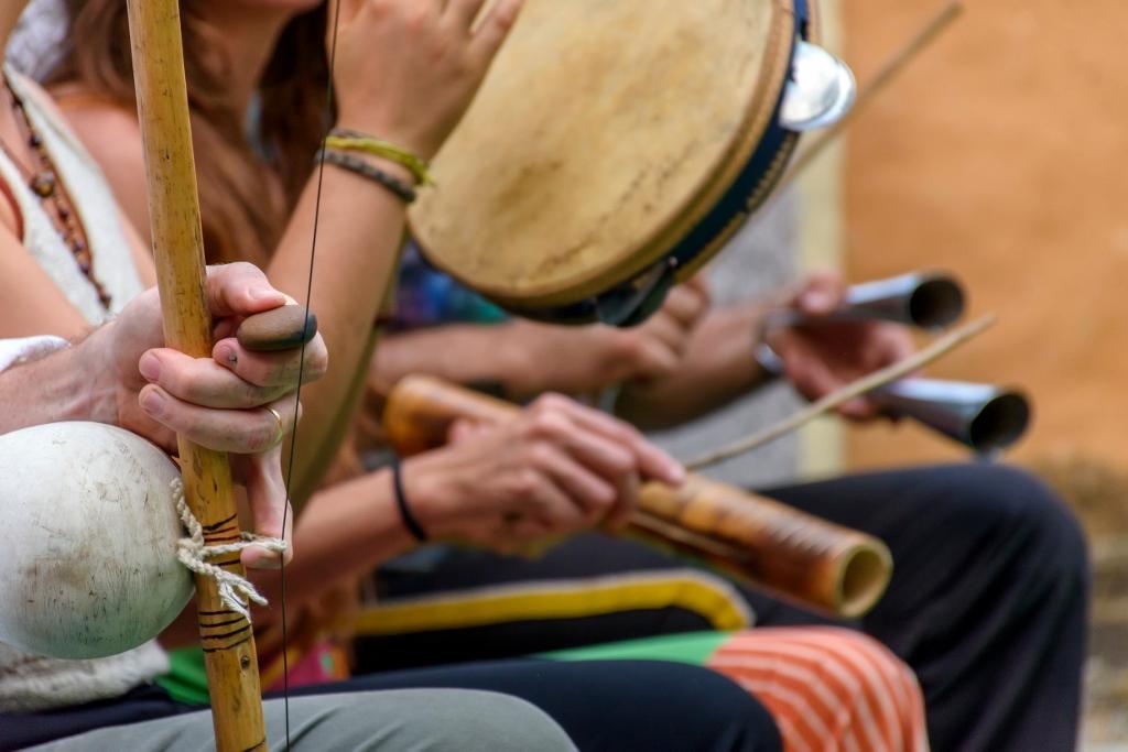 Amanhã é dia santo (Um, dois, três) – Capoeira Song